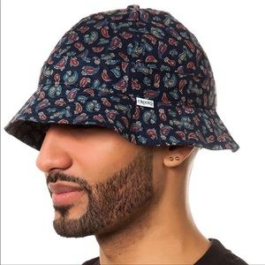 Crooks & Castles Iconic Paisley Print Bucket Hat